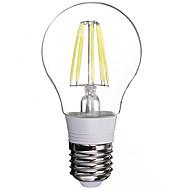 1 stk. E26/E27 6 W 6 Højeffekts-LED 480 LM Kold hvid LED-glødelampe AC 85-265 V