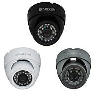 24 IR LEDとhosafe™の960p 130万画素のセキュリティ防水メタルドームIPカメラ