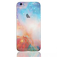 ster patroon telefoon shell dun TPU materiaal voor iPhone 6 / 6s
