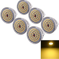 6 Stück YouOKLight Dekorativ Spot Lampen MR16 GU5.3 6.5 W 600 LM 3000 K 48 SMD 2835 Warmes Weiß DC 12 V
