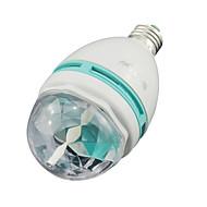 E27 3W  RGB Stage LED Light Auto Rotating Holiday Lamp AC85V-265V Disco DJ Party Holiday Dance Bulb Christmas Lighting