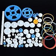 80 erilaisia muovi vaihdemoottorilla vaihde vaihteisto paketti robotti tarvikkeet pakki