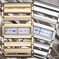 아가씨들 드레스 시계 일본 쿼츠 중공 판화 합금 밴드 뱅글 실버 / 골드 상표