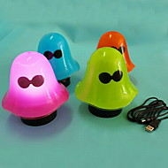 Lampes de nuit V ) - USB - Bleu/Vert/Incarnadin/Orange W ) - ( Rechargeable )