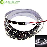 120cm 5W 90x3528SMD White / Cool White  Light LED Strip Lamp for Car (DC 12V)