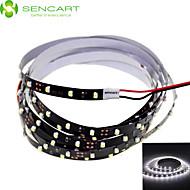 SENCART 1.2 M 90 3528 SMD ホワイト カット可能/調光可能/接続可/車に最適/ノンテープ・タイプ 5 W フレキシブルLEDライトストリップ DC12 V