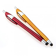 kinston® 2 x 2i1 kapacitiv touch screen stylus kuglepen med kuglepen til iPhone / iPod / iPad / Samsung og andre
