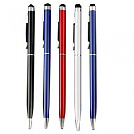 Kinston® 5 X Universal Metal Stylus Touch Screen Pen Clip with Ball Pen for iPhone/iPad/Samsung and other