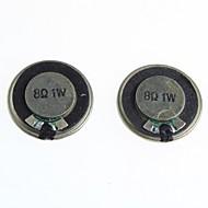 8 ohmia 1W pieni kaiutin / kaiutin halkaisija 2.8cm (2kpl)