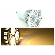 GU10 3.5 W 3 X High Power LED 240-300 LM 3000-3500 K Warm White Spot Light AC 85-265 V