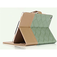 SpeciAlly DesiGned Bump Color PU Leather Auto Sleep For ipad4/3/2 Thin Shell
