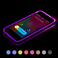 Call LED Blink Transparent TPU Back Cover Case For iPhone 5/5S(Assorted Colors)