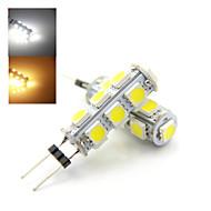 1 pcs Ding Yao G4 4W 13X SMD 5050 150-250LM 2800-3500/6000-6500K Warm White/Cool White Bi-pin Lights AC 220-240V