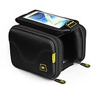 CoolChange® Fahrradtasche 1.5LLFahrradrahmentasche / Handy-Tasche Touchscreen / tragbar Tasche für das Rad 600D - Polyester Fahrradtasche