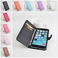 Protective PU Leather Magnetic Vertical Flip Case for iPhone 6 Plus(Assorted Colors)