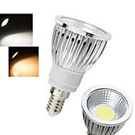 2 pcs Ding Yao E14 12W 1X COB 50-150LM 2800-3500/6000-6500K Warm White/Cool White Spot Lights AC 85-265V
