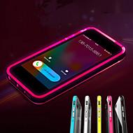 Çağrı iphone şeffaf TPU arka kapak davayı yanıp 5 / 5s (çeşitli renklerde) liderliğindeki
