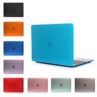 estuche rígido de la PC de color sólido con el cristal para el macbook Retina de 12 pulgadas (colores surtidos)