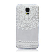 For Samsung Galaxy etui Gennemsigtig Etui Bagcover Etui blondedesign TPU for Samsung S6 edge S6 S5 Mini S5 S4 Mini S4 S3 Mini S3