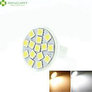 4 Stück SENCART Dimmbar/Dekorativ Spot Lampen MR11 GU4 7 W 550-650 LM 3500K  6000K 6500K K 15 SMD 5060Warmes Weiß/Kühles Weiß/Natürliches