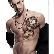 1 Tatoeagestickers Totem Series Overige Non Toxic Onderrrug WaterproofKind Dames Heren Volwassene Tiener Flash Tattoo tijdelijke Tattoos