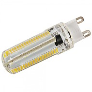 Dimmable G9 10W 152x3014SMD 1000LM 2800-3200K/6000-6500K Warm White/Cool White Light LED Corn Bulb (AC110V/AC220V)