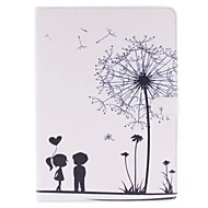 Two Children Picture PU Leather Full Body TPU Case with Card Holder for Ipad Air Ipad 5