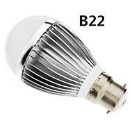 GU10 / B22 / E27 9W 18x5730smd 720-810lm naturlig / varm hvid lys førte bolden pære (85-265v)