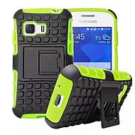 Για Samsung Galaxy Θήκη Ανθεκτική σε πτώσεις / με βάση στήριξης tok Πίσω Κάλυμμα tok Πανοπλία PC Samsung Young 2 / Grand Prime