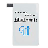 מקלט איכותי minismile ™ קומפקטי דק מטען האלחוטי qi לחייב עבור i9600 הגלקסיה S5 SAMSUNG