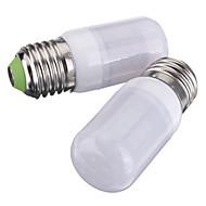 3W E26/E27 LED-kolbepærer T 27 SMD 5730 420 lm Varm hvid Kold hvid Jævnstrøm 12 V 2 stk.