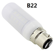 b22 / e27 / G9 6w 36x5730 smd 400 ~ 450lm warm wit licht geleid frosted deksel corn lamp AC 220V ~ 240V