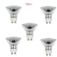 5pcs HRY® 3W GU10 36LEDS 260LM 3000K Warm White Color Light LED Spot Lights(220V)