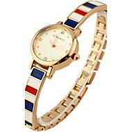 Dame Modeur Armbåndsur Quartz Legering Bånd Glitrende Bohemisk Charm Armbånd Elegante Mangefarvet Gylden