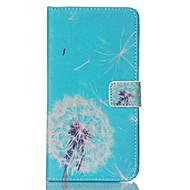 For Samsung Galaxy Note Pung / Kortholder / Med stativ / Flip Etui Heldækkende Etui Mælkebøtte Kunstlæder Samsung Note 4 / Note 3
