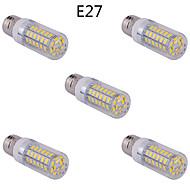 5 stk. E14/G9/E26/E27 15 W 60 SMD 5730 1500 LM Varm hvid/Kold hvid Kolbepære AC 85-265 V
