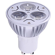 HRY® 3*3W GU10 900LM Warm/Cool Light Lamp LED Spot Lights(85-265V)