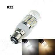 7W E14 / G9 / GU10 / E26/E27 / B22 LED kukorica izzók 40 SMD 5630 1200-1600 lm Meleg fehér / Hideg fehér Dekoratív AC 100-240 / AC 220-240