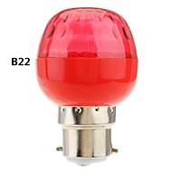 b22 / e27 1w luce led rosso globo lampadina (220v)
