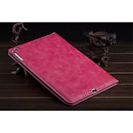 yksivärinen pu nahka auto uni / herätys folio tapauksia kirjekuori tapauksia iPad mini 2 3 (valikoituja väri)