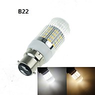 G9/GU10/E14/B22/E27 7W 40x5630SMD 1600LM 3500K 6000K Warm White/Cool White Home / Office Corn Bulbs  AC110-240V
