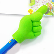 Finger Gesture Pencil Top Eraser (Random Color)