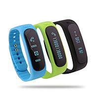 bluetooth 4,0 multifunktionella kör vattentät pedometer / kalorier intelligenta armband övervakning sömn temperatur