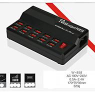 o novo usb carregador inteligente w 10 - 838