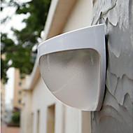 solare luce pir sensore di movimento della parete del giardino scala recinzione lampade a led bianchi