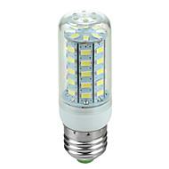 E27 3.5W 600lm 6500K 48-SMD 5730 привело прохладный белый свет лампы кукурузы (220В ~ 240В)
