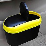 Automotive Interior Waste Bin Multi-Functional Portable Folding Hanging Trash Rack Receive Vehicle Garbage