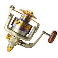 Carrete de la pesca Carretes para pesca spinning 5.5:1 10 Rodamientos de bolas ZurdoPesca de Mar / Pesca a la mosca / Pesca de