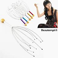 1pcs Hand Kopf Akupressurpunkte Kopfhaut Hals Stressabbau Massagegerät Körper entspannen Klaue Massagegerät (gelegentliche Farbe)