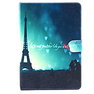 Tower under the Love  Pattern PU Leather Full Body Case with Stand for iPad air/ipad5